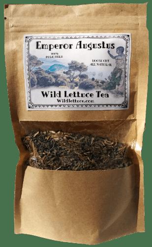 wild lettuce tea product